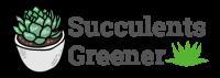 succulents greener logo